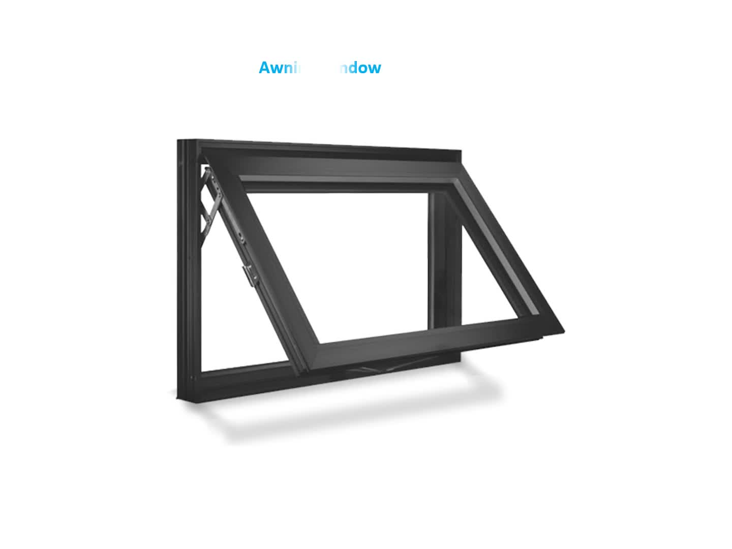 Custom Frosted Glass Awning Window Personalized Small Awning Windows For Sale