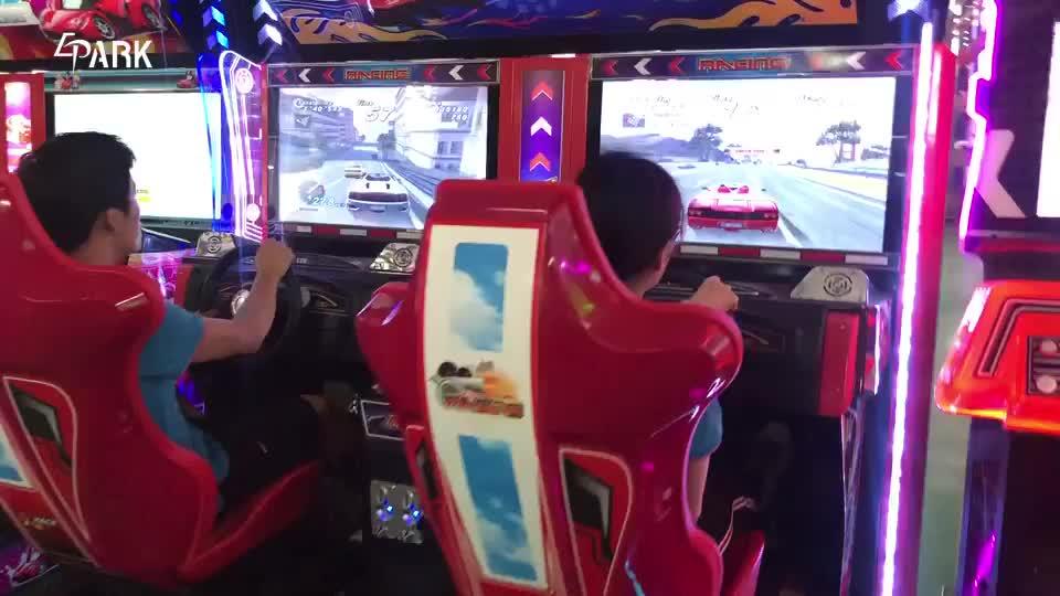 two player car racing game simulator EPARK maximum tune coin operated arcade game cabinet machine