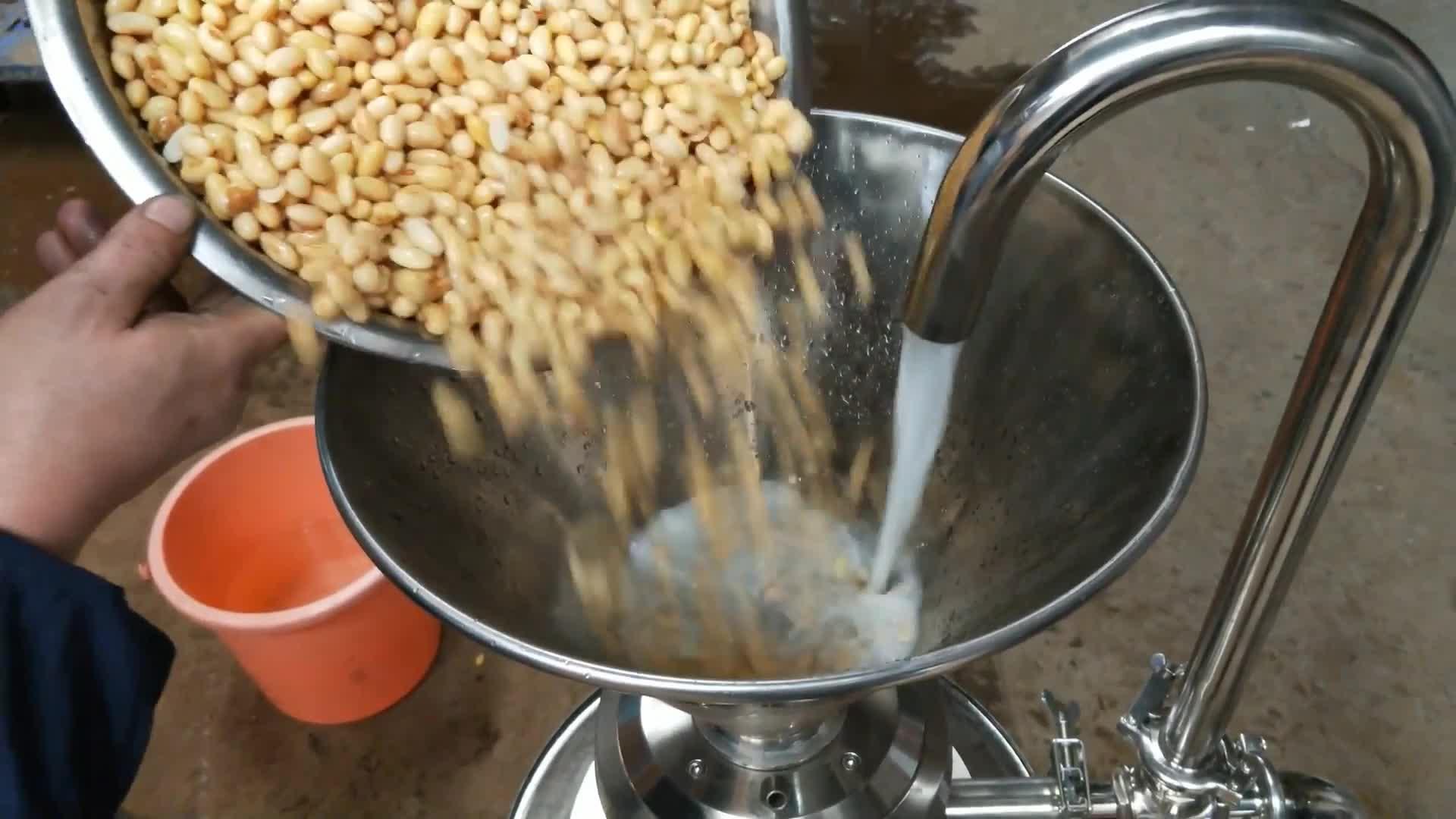 Emulsionskolloidmühlen, hochwertige Erdnussbutter-Mühlenmaschine, Sesamsauce-Kolloidmühlenmaschine