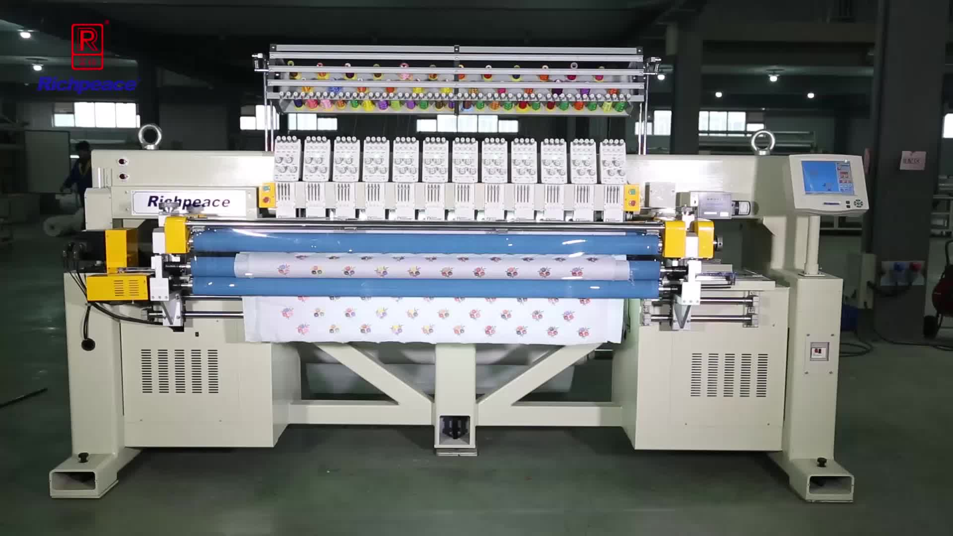 Richpeace Computerized Quilting & Embroidery Machine