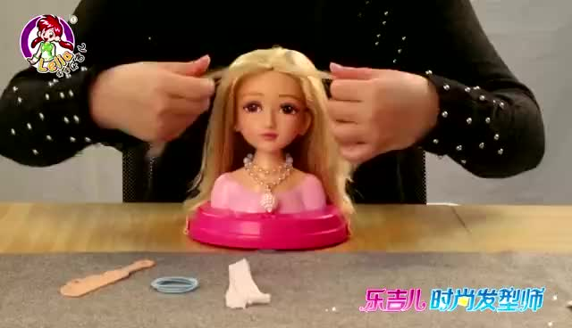 Plastic Fashion Doll Hairdressing Training Heads for Girl