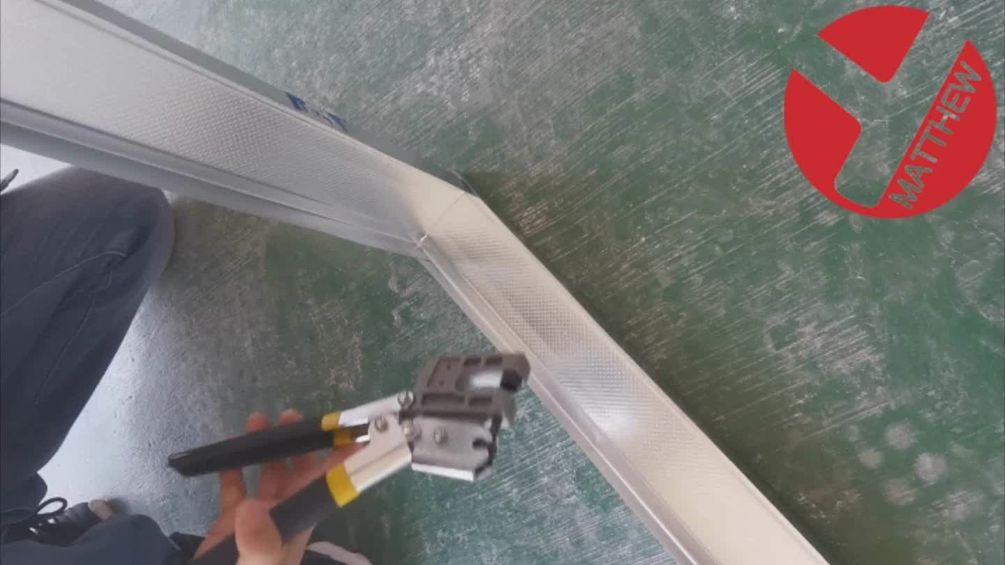 Drywall Metal Steel Studs Track Crimping Studs Crimper Plier With PVC Coated Handle