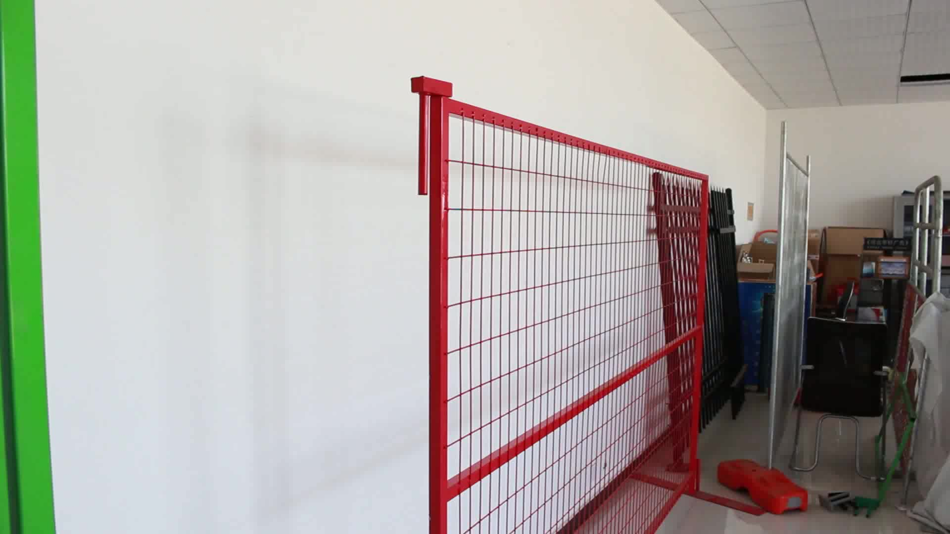 6 X9 5 Pvc Coated Portable Security Canada Temporary