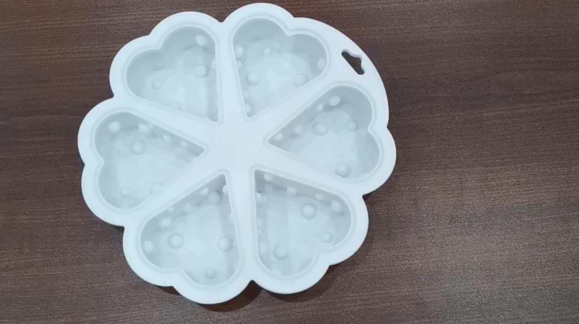 6 ячеек экологичен мусс для выпечки тортов сыр силиконовая форма для выпечки торта