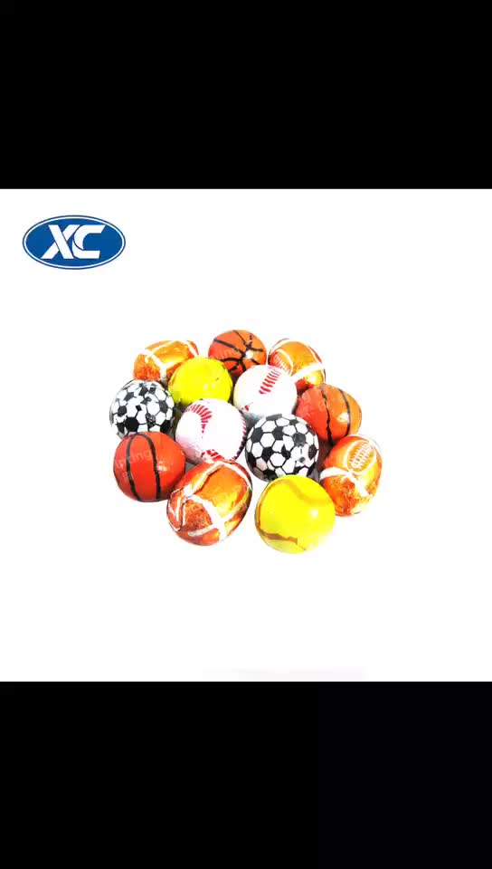 football chocolate alloy paper different shape aluminum foil food packaging