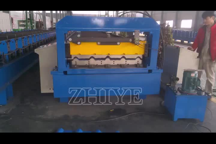Roof Sheet Production Machine/Colored Steel Roof Tiles Making Forming Machine