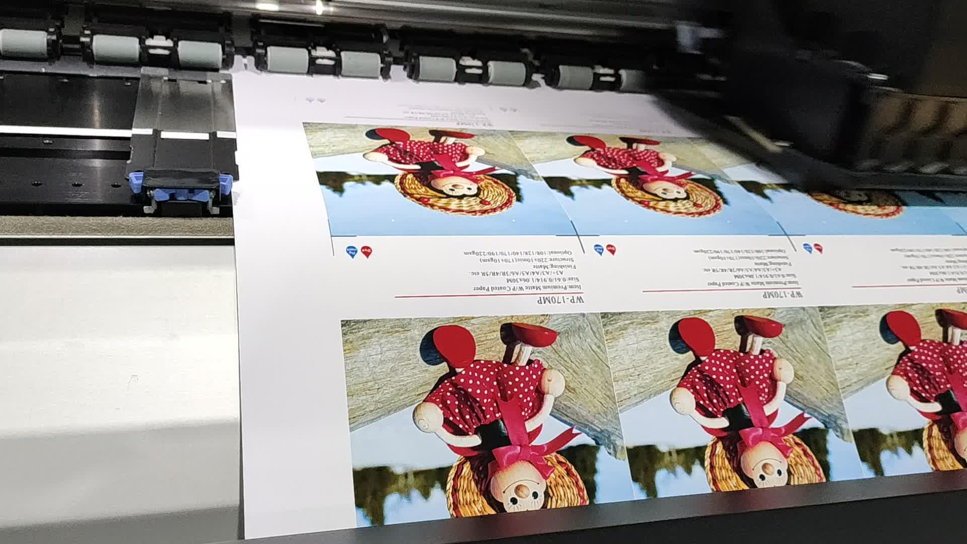 WP-170MP professional A4 waterproof inkjet printing matte photo paper