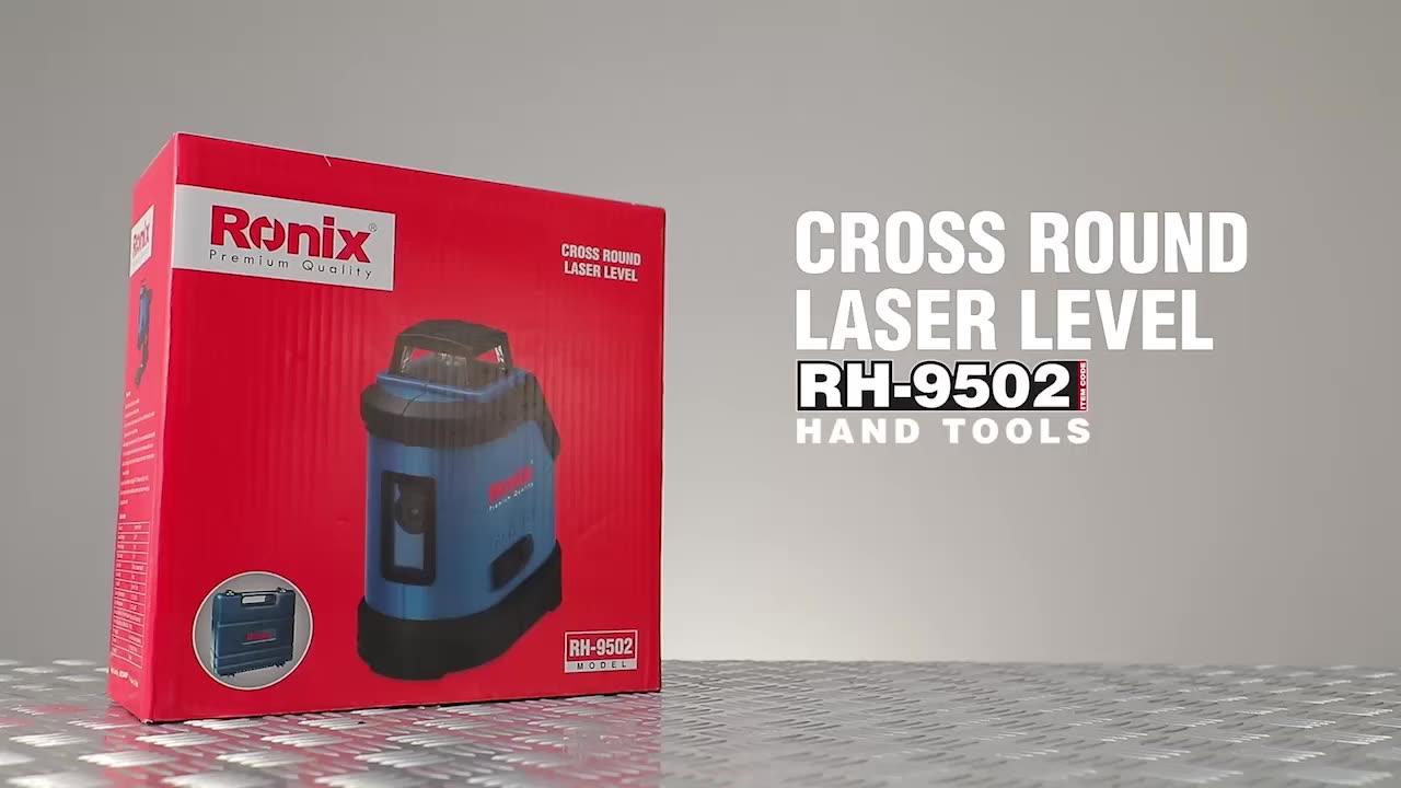 2021 Ronix Alat Profesional RH-9536 3D Otomatis Laser Terbaik Tingkat Hijau