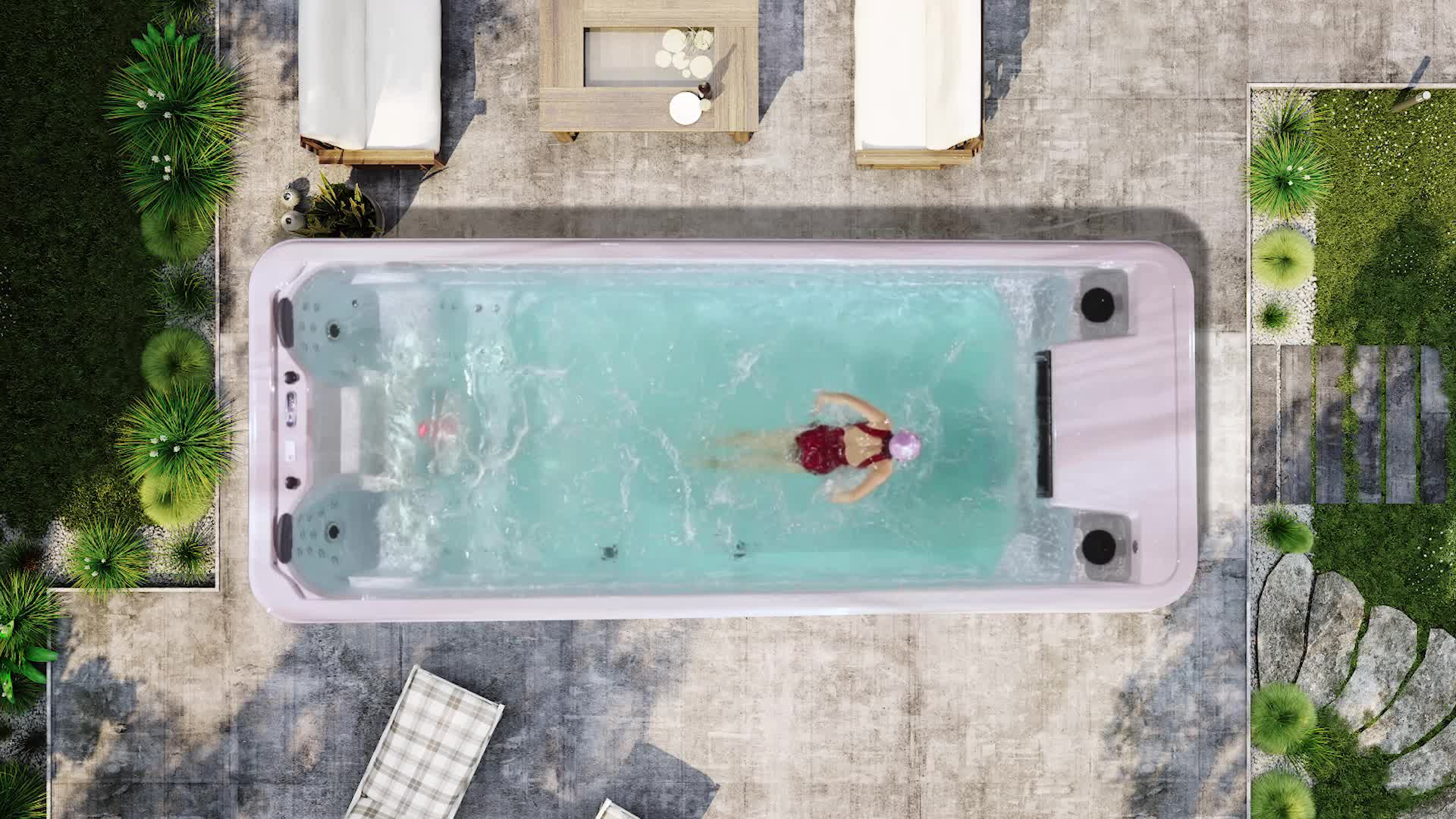 MEXDA New Hot-Bán Ngoài Trời Intex Hồ Bơi Bơi WS-S06B-T