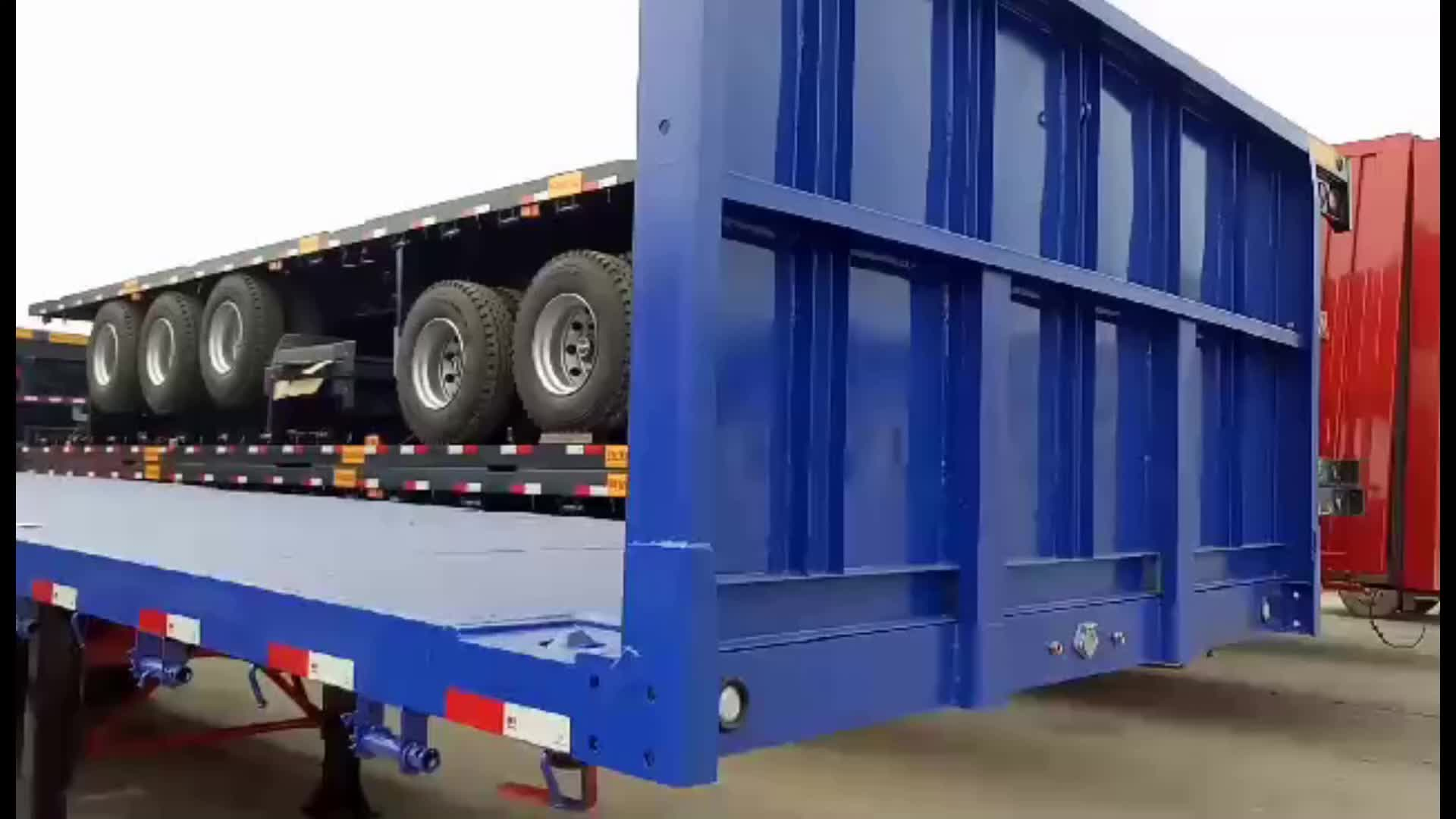 Hot sale 40ft flatbed container trailer price in India