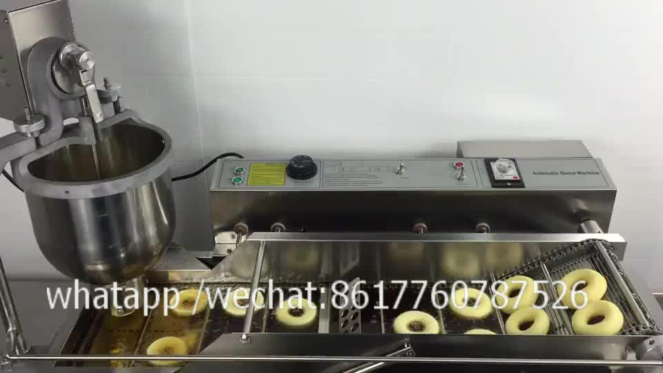 Automatic Big Gas Donuts fryer Donut Maker Forming Making Machine