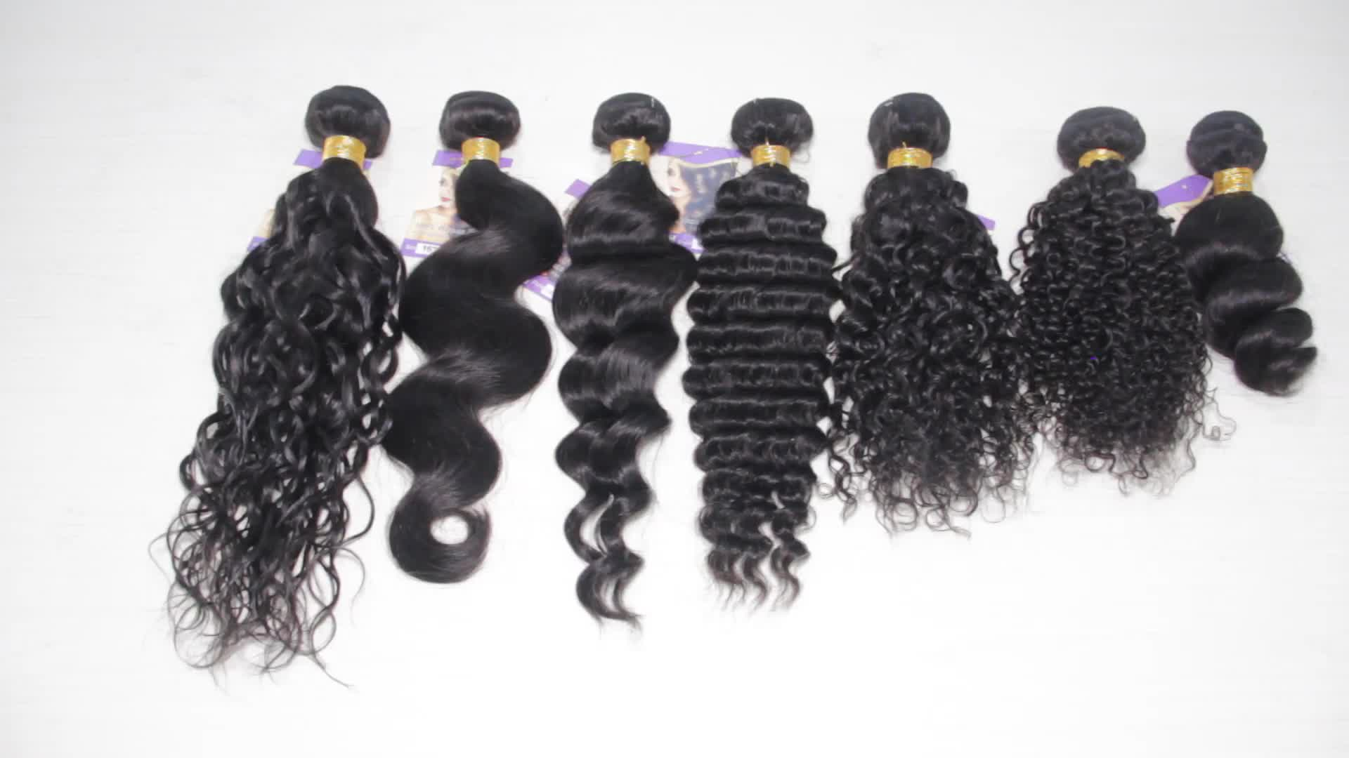 Wholesale 12A  Indian Unprocessed Cuticle Aligned Raw Straight Virgin Hair  No Tangle No Shedding