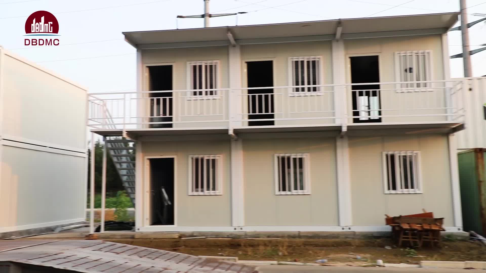 luxury prefab container house prefab villa