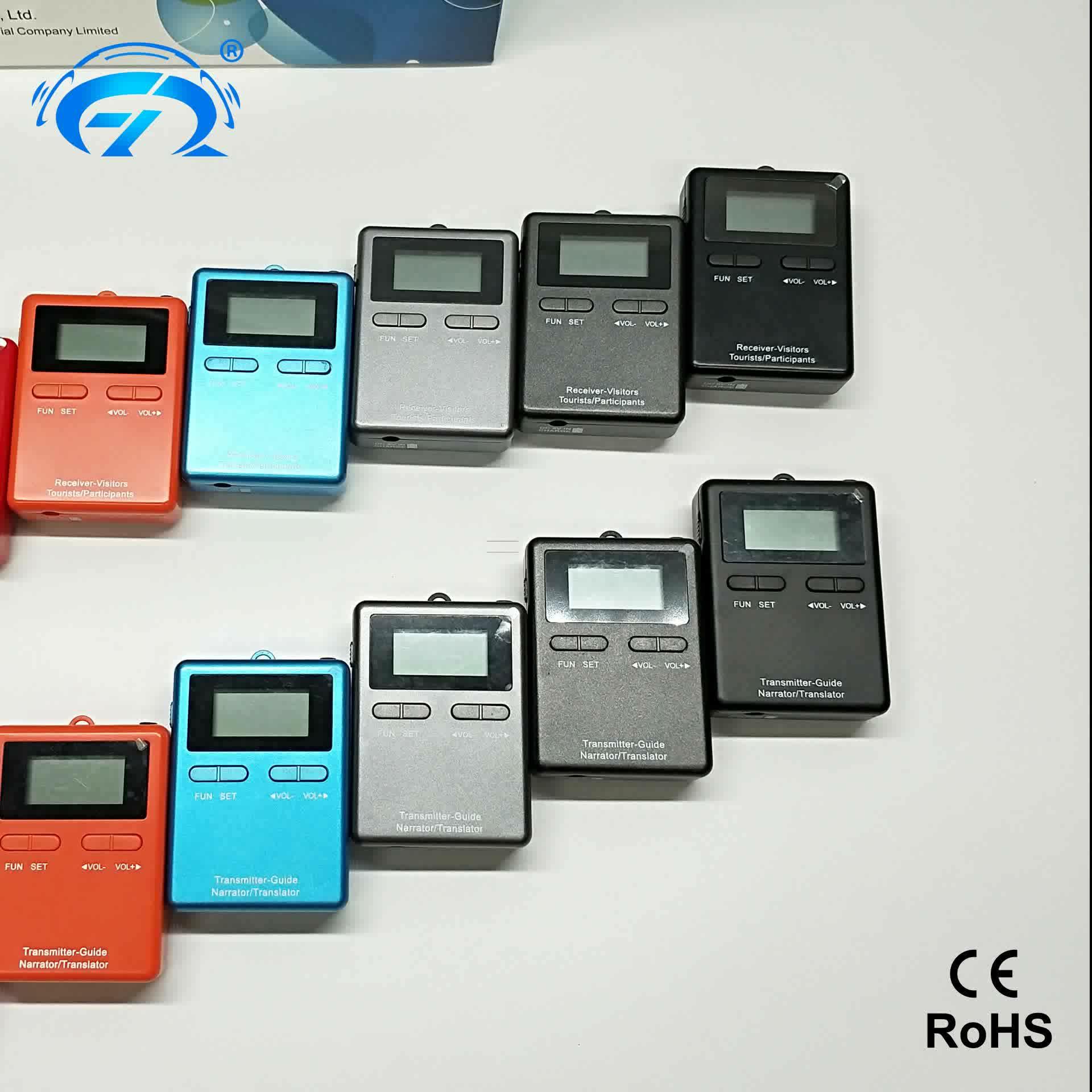 RichiTek Audio Digitale Simultaanvertaling Voor Meeting