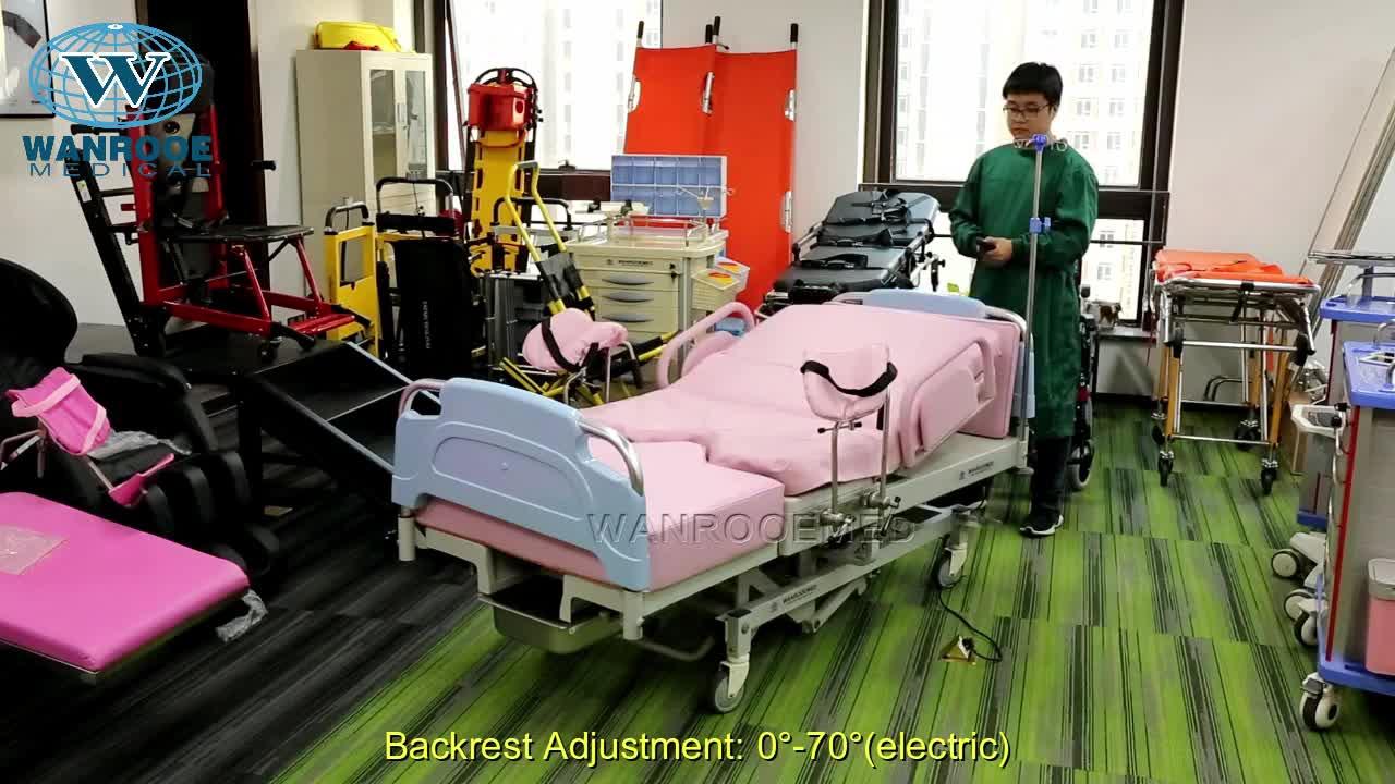 ALDR100BM Hoge Kwaliteit Verloskundige Levering Tafel Bevalling Bed