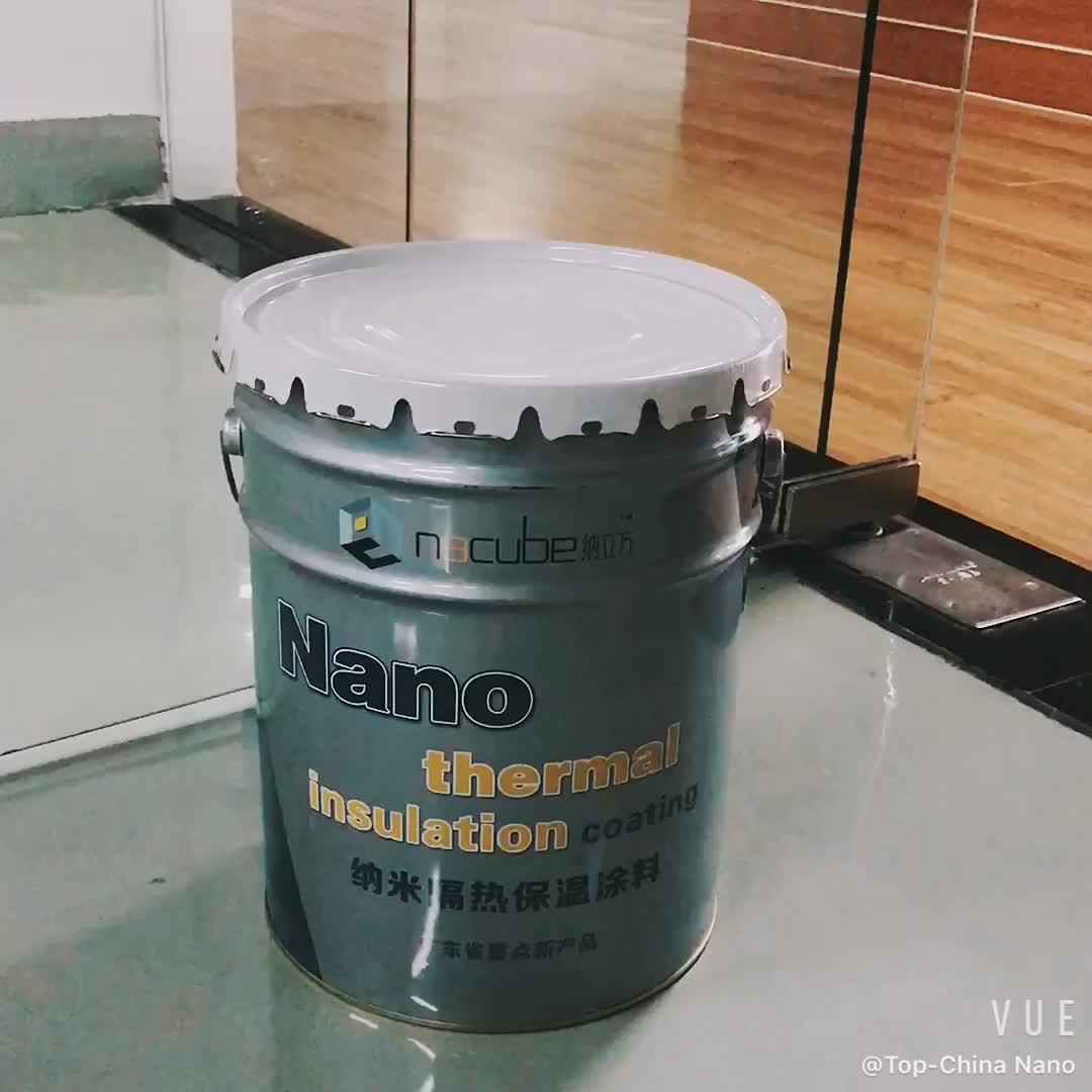 Nano di vetro Isolamento Termico Rivestimento per auto finestra con il 90% UV IR Blocco di costruzione