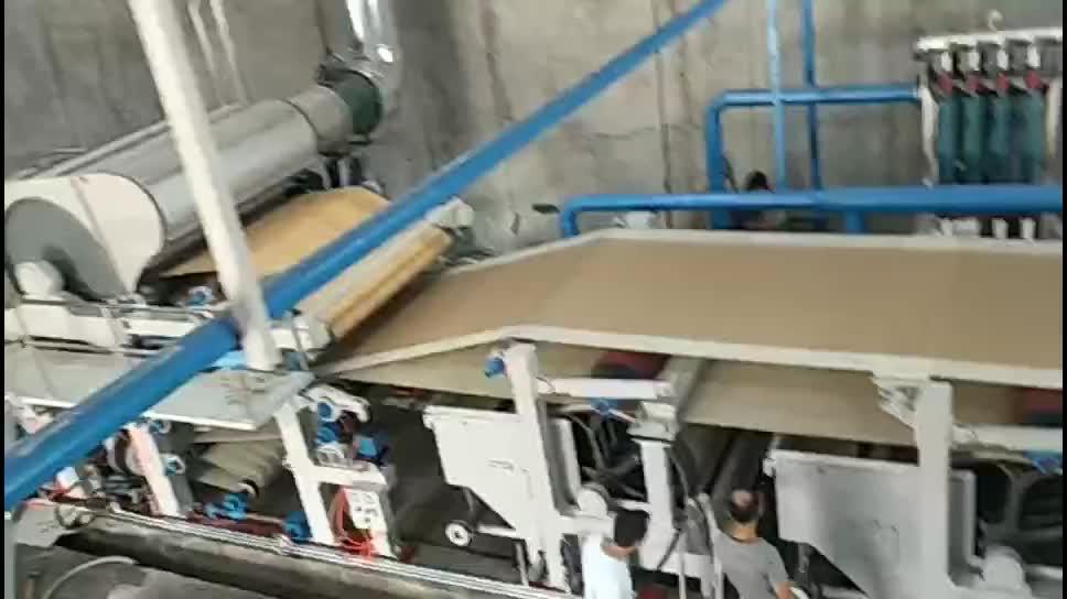 1092 ประเภทอัตโนมัติหัตถกรรมกระดาษทำสาย Kraft กระดาษกระดาษขลุ่ยสายการผลิต