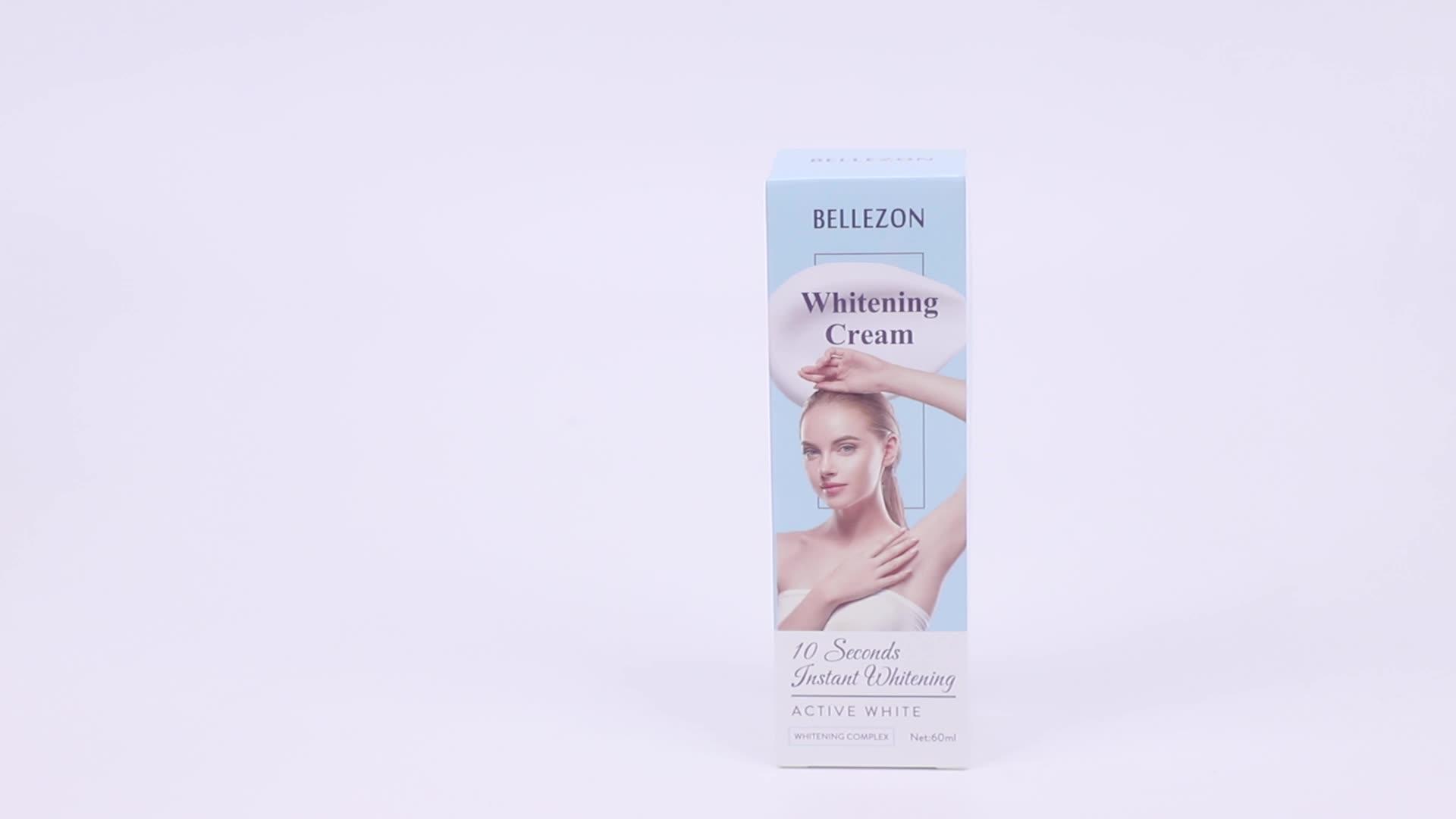 नई पहुंचे प्राकृतिक शरीर Whitening महिलाओं बगल और निजी भाग अंडरआर्म के लिए त्वचा की देखभाल Whitening क्रीम