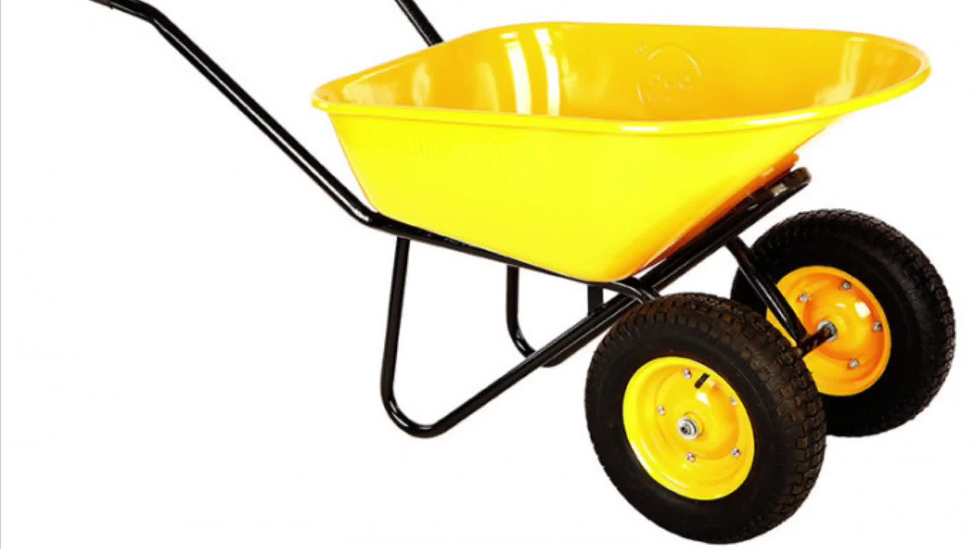 厂家供应手推车 双轮手推车 物流工具车 WB6418S