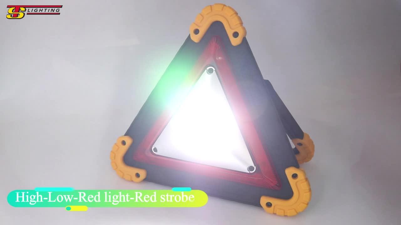 Recargable LED portátil impermeable de emergencia las luces al aire libre de las luces LED de emergencia de coche de luz estroboscópica