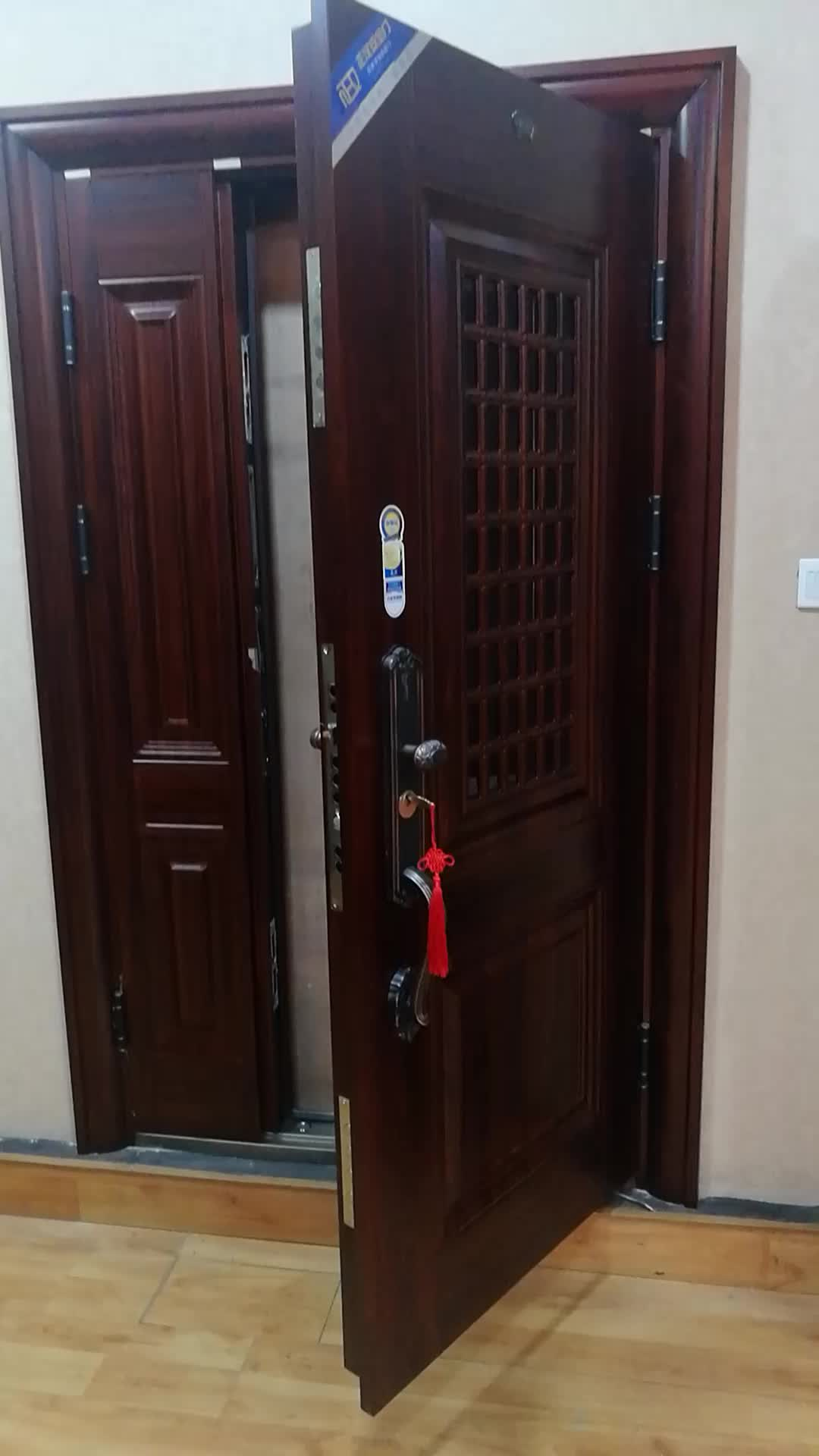 China Supplier Entry Steel Security Flat Safety Door Designs Metal