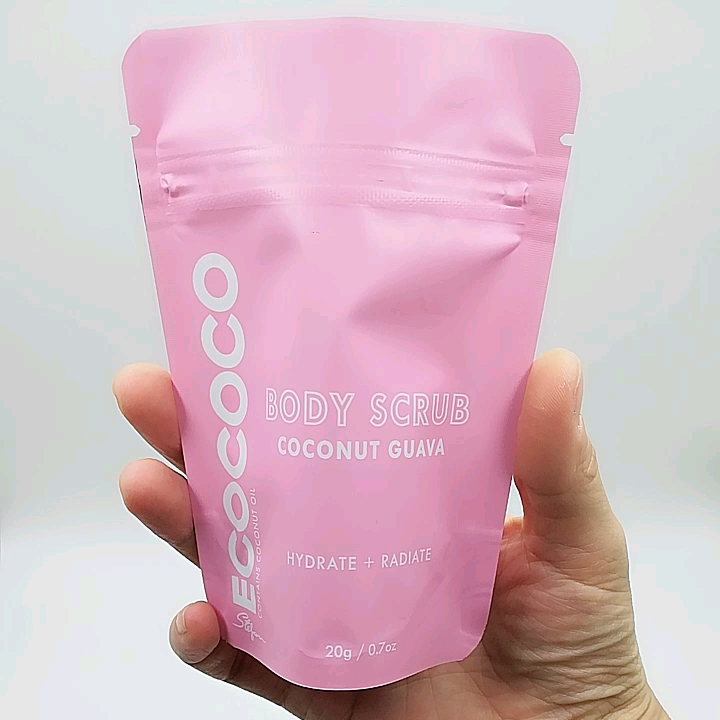 Matte Stand Up Pouch Plastic Food Bag With Zipper