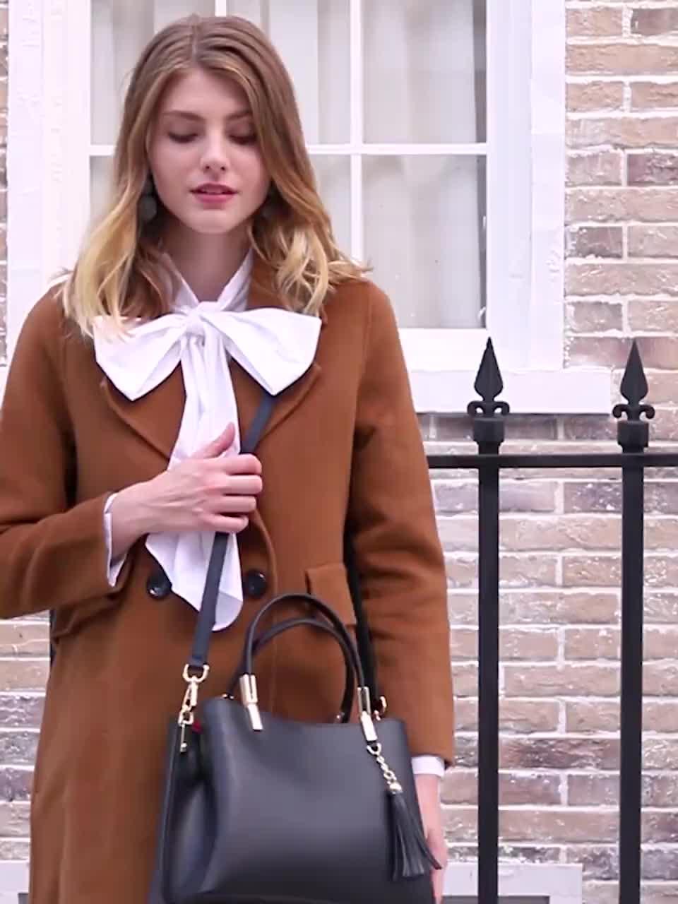 Großhandel damen handtaschen Guangzhou Fabrik Hohe Qualität Echtes Leder Frauen Hand Tasche