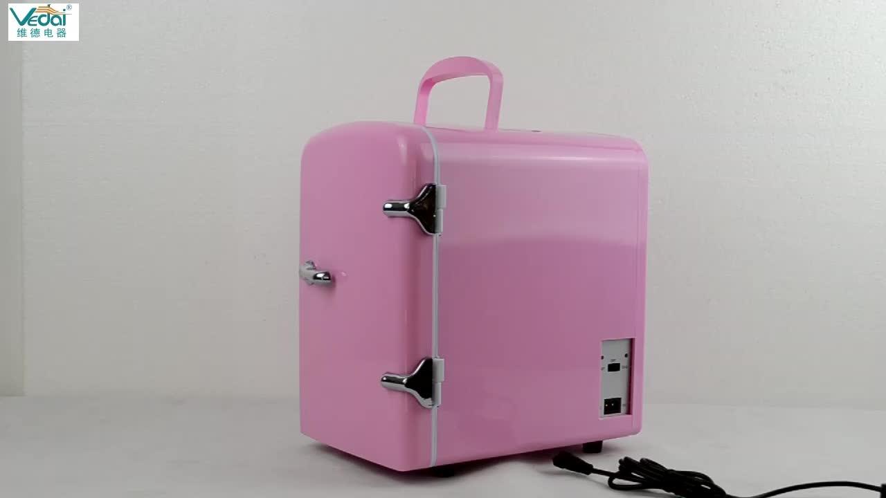 Tủ Lạnh Mini 4l Di Động/Tủ Lạnh Mini Mỹ Phẩm Màu