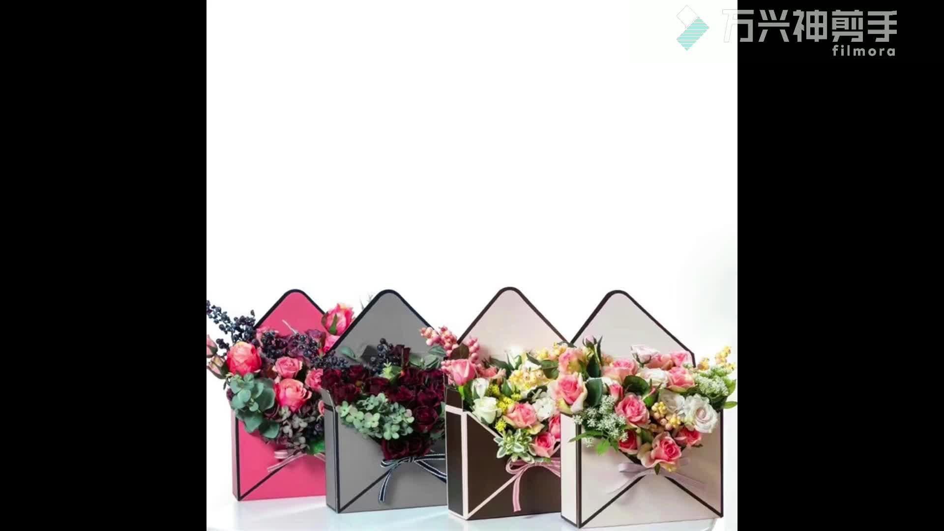 Упаковочная коробка для цветов