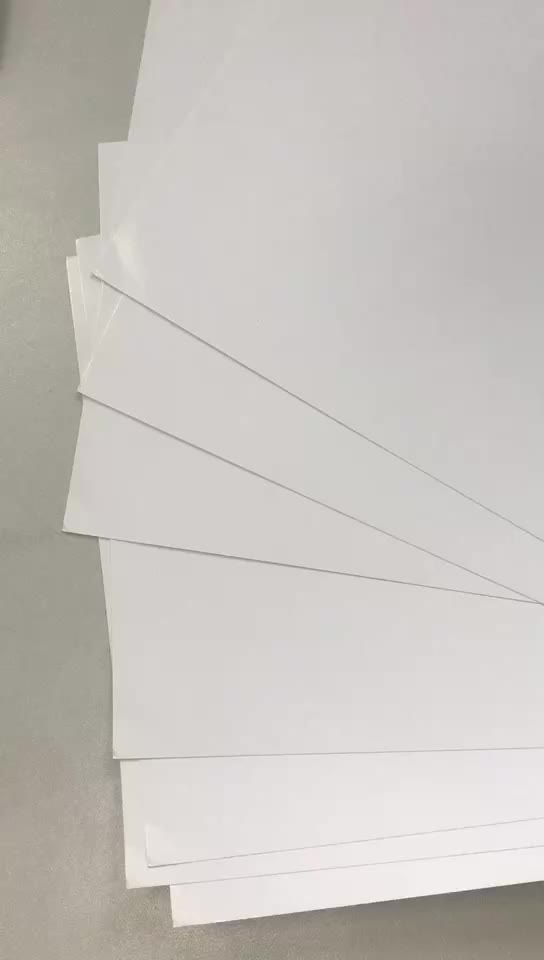 Top quality 100g 200g 300g 350g two sides coated art glossy paper