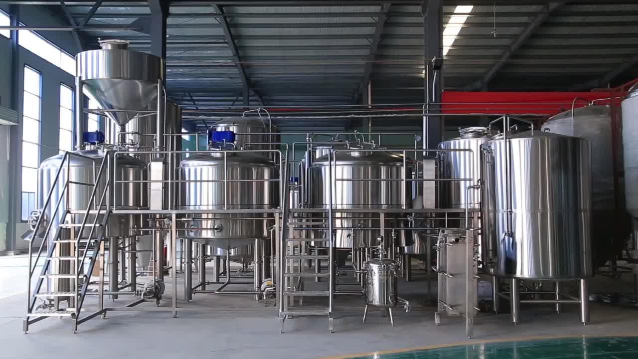 5000L शंक्वाकार किण्वक बियर किण्वक के लिए बिक्री