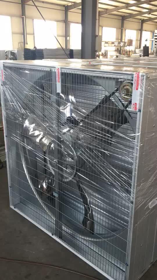 1000 Mm Ukuran Portable Dinding Ventilasi Exhaust Kipas Industri untuk Peternakan Unggas dan Dapur