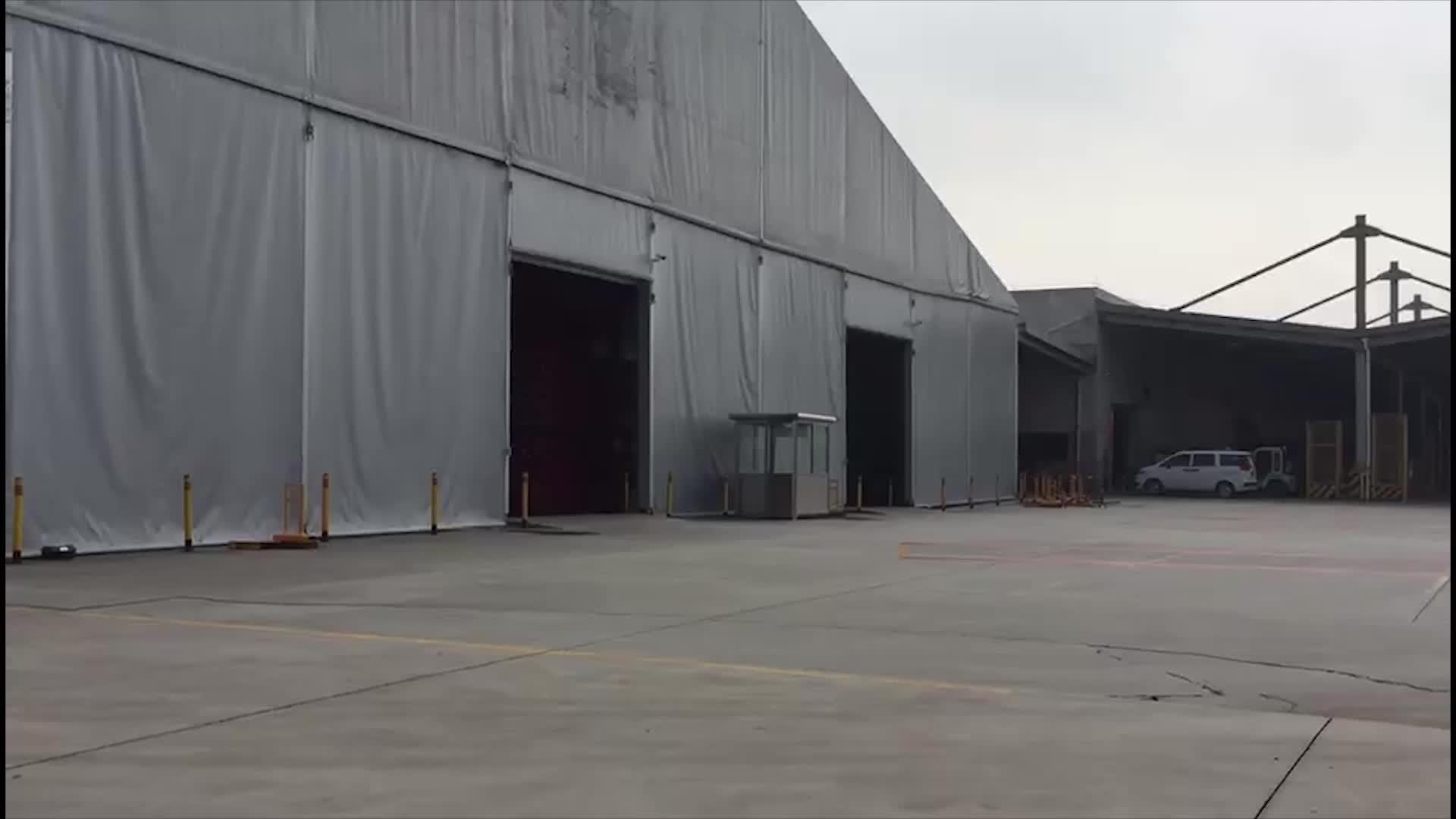 Büyük açık endüstriyel olay Marquee depo çadırı depo için