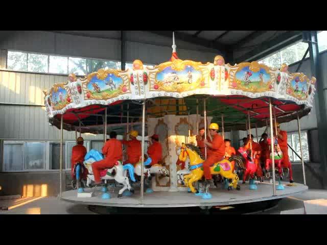 carnival  fairground kiddie carousel horses for sale
