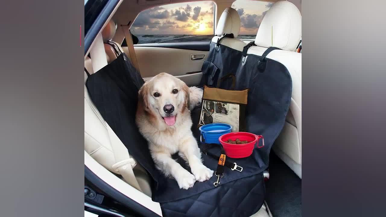 PET proveedor al por mayor mascota cubierta de asiento de coche cubierta del asiento del perro