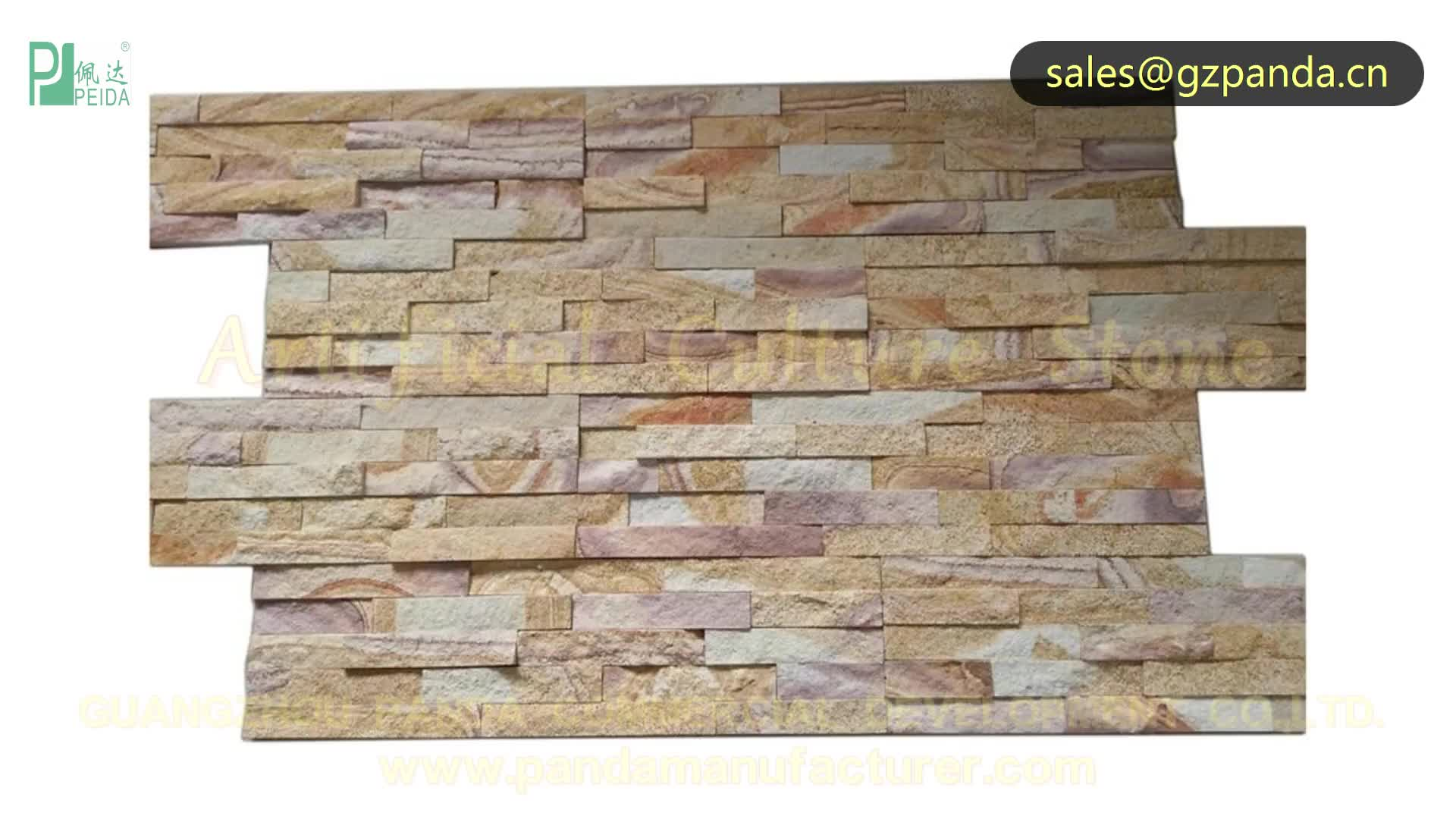 Home Decoration Imitation Wall Cladding Artificial Culture Stones and Wall Brick