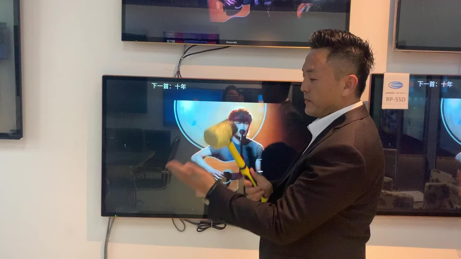 中国 led テレビスマートテレビ wifi と強化防爆フル hd テレビ広告テレビ 4 18k スマートテレビ 32 インチ