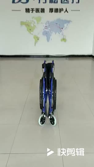 Affordable portable manual wheelchair for Handicapped, light weight, customized spray painted steel frame