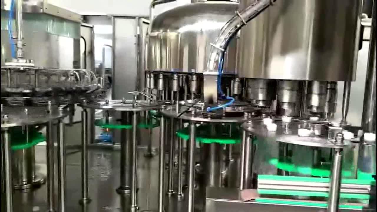 โซลูชันโรงงานบรรจุน้ำอัตโนมัติสามในหนึ่ง