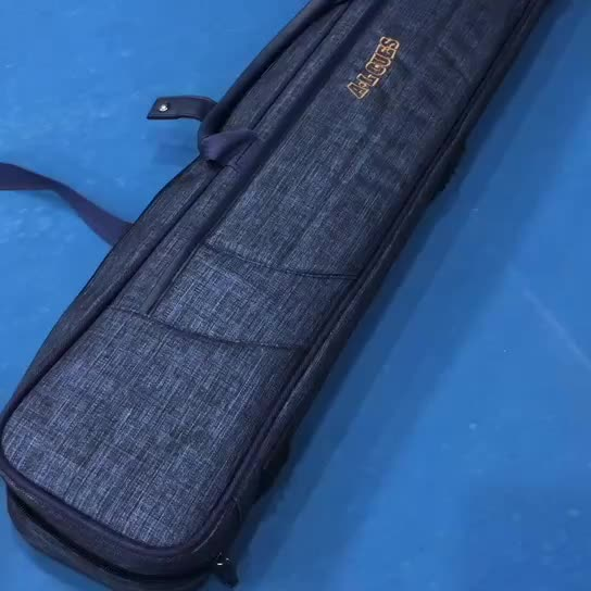 2B4S PU leather billiard pool cue case