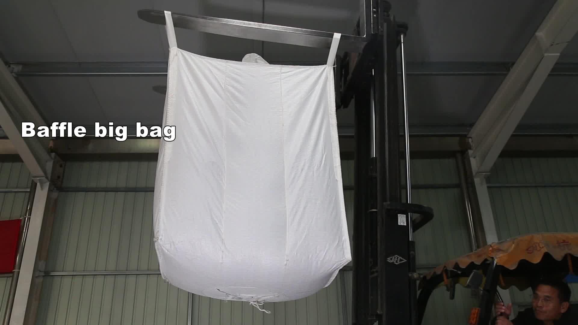 बीज और मकई सुरक्षा का पहलू में उपयोग 5:1 संयुक्त राष्ट्र प्रमाणीकरण 1000 kg बड़ा बैग, बाधक बैग