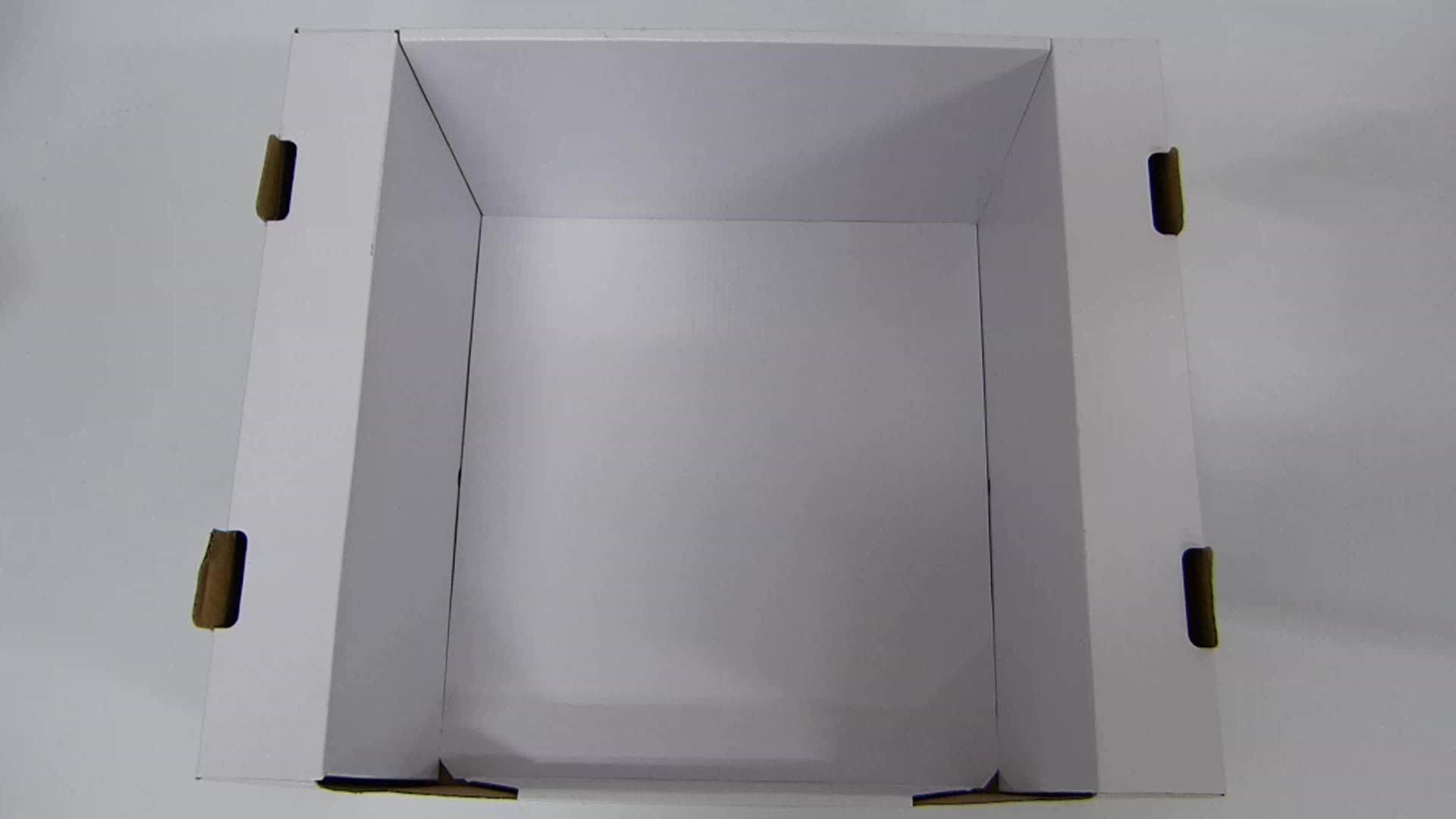 Custom CMYK Printing Corrugated PDQ Paper Display Quick Paper Box