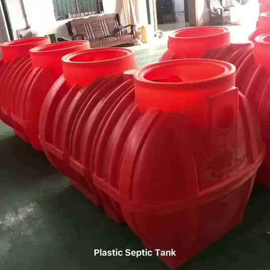 Fossa settica sotterraneo sepolto in plastica a buon mercato per la vendita