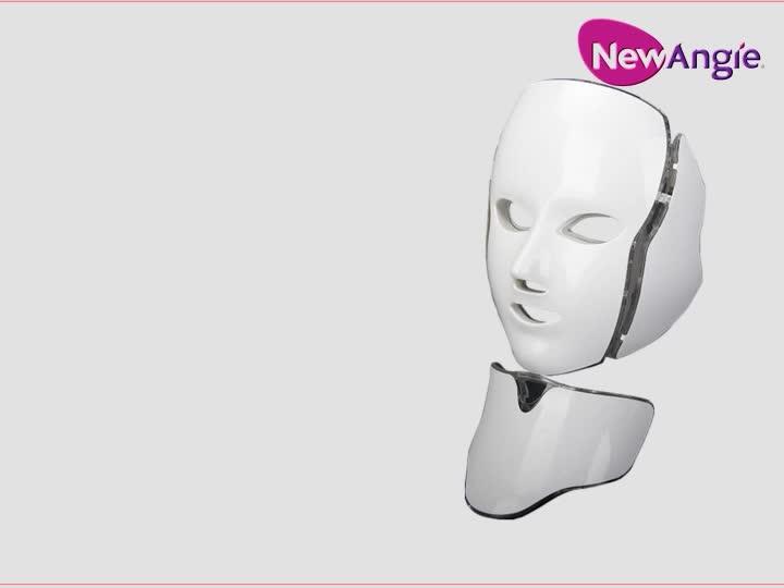 Colorato pdt led maschera per il viso per Ance Rimozione