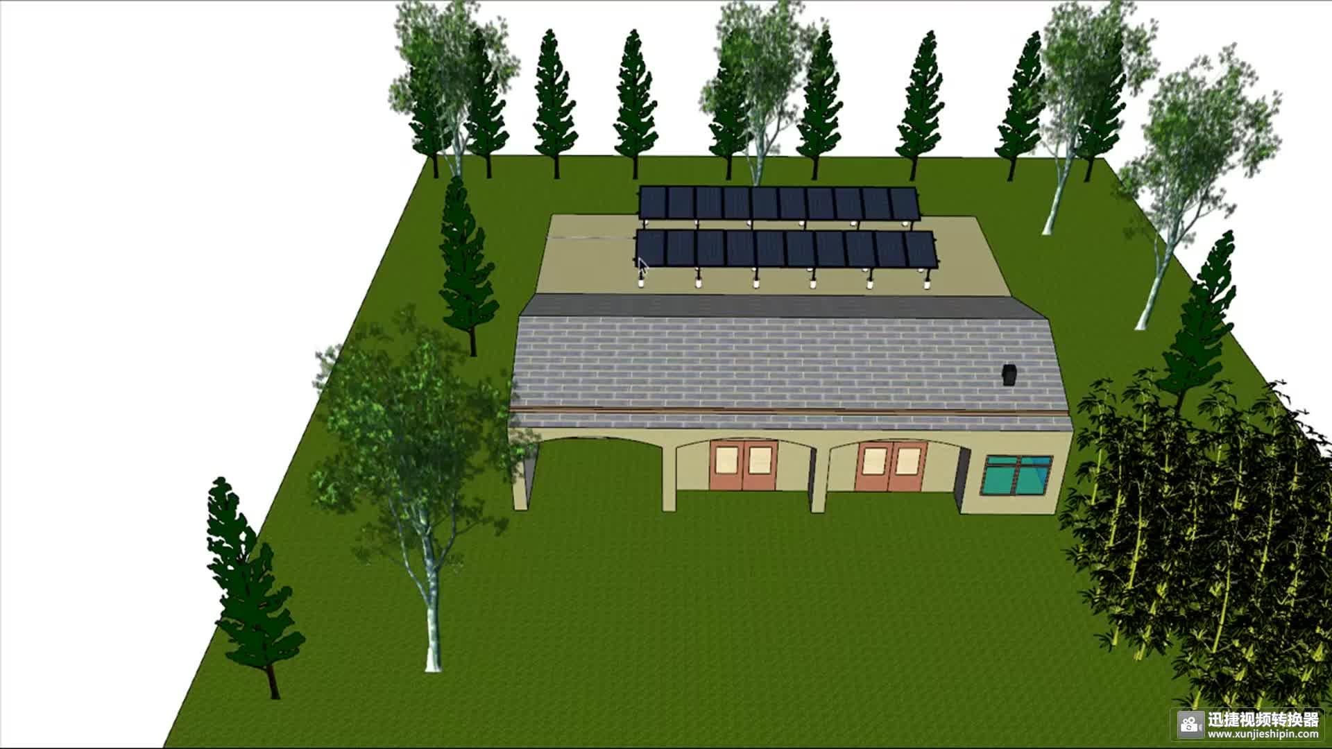 Novo inversor solar pv de 5kw 10kw 20kw opcional com grade de 5kw