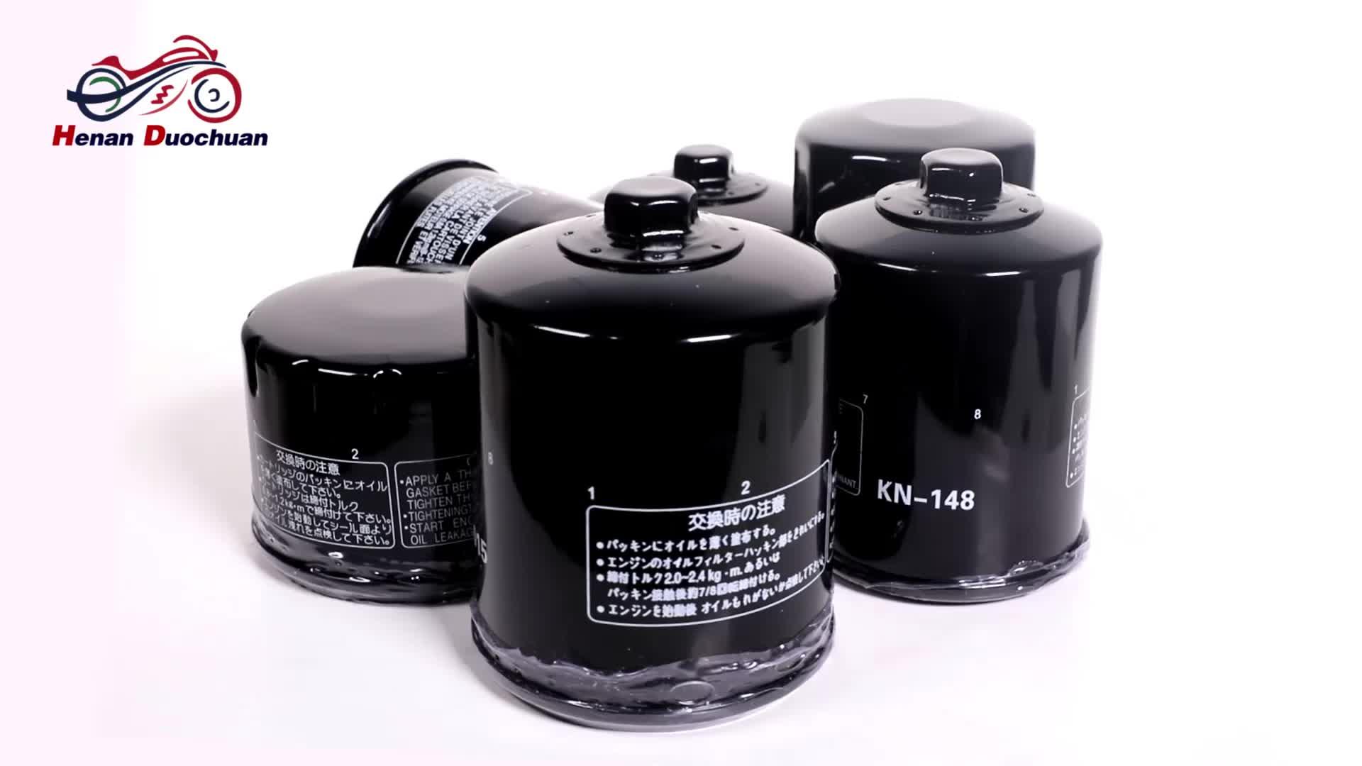 מסנן שמן מנוע אופנוע באיכות גבוהה עבור Yamaha 1WD-E3440-00/5GH-13440-20/5GH-13440-50/5GH-13440-60x6 יחידות