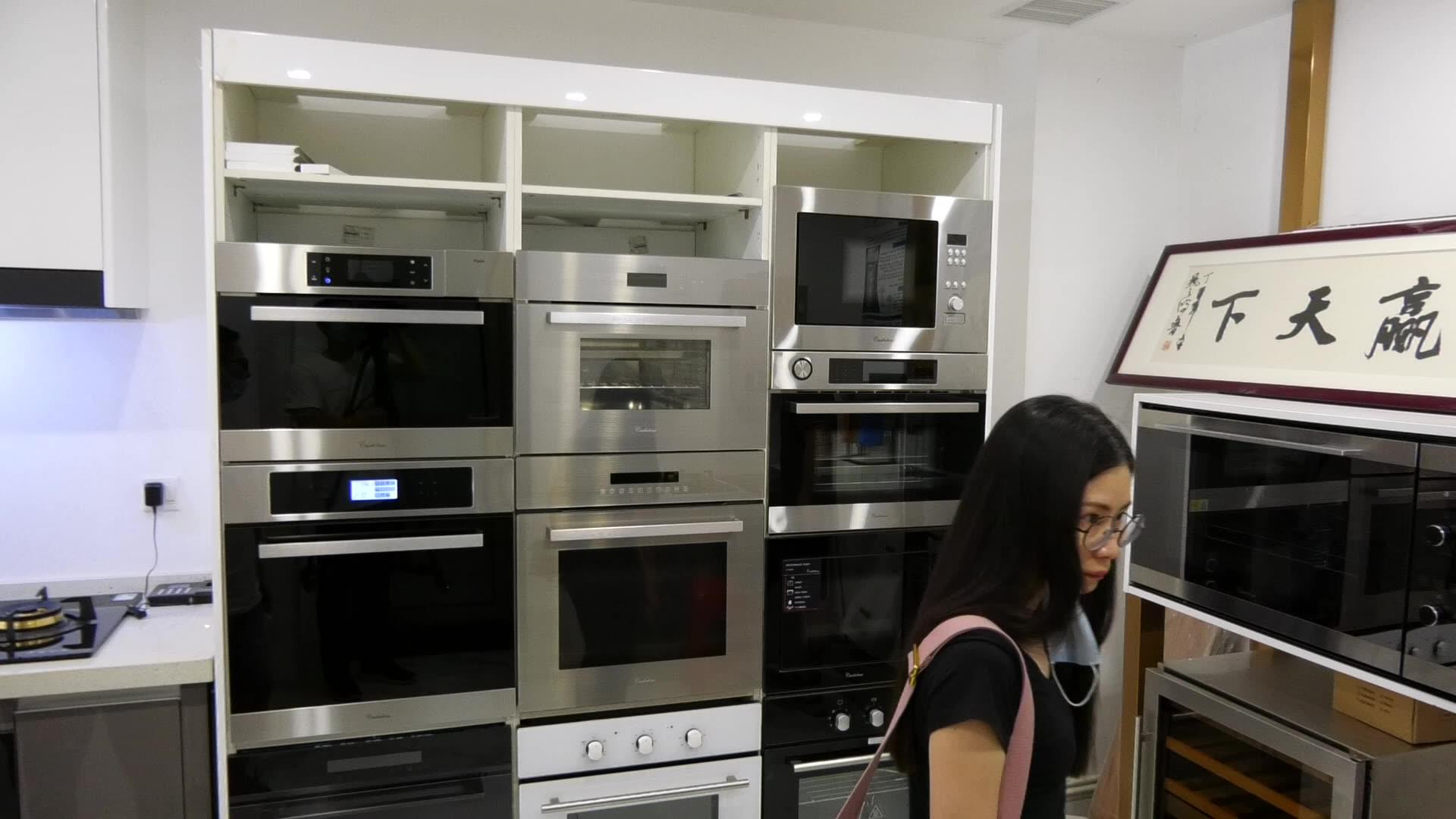 Kein Frost Große Kapazität Französisch Tür Edelstahl Kühlschrank