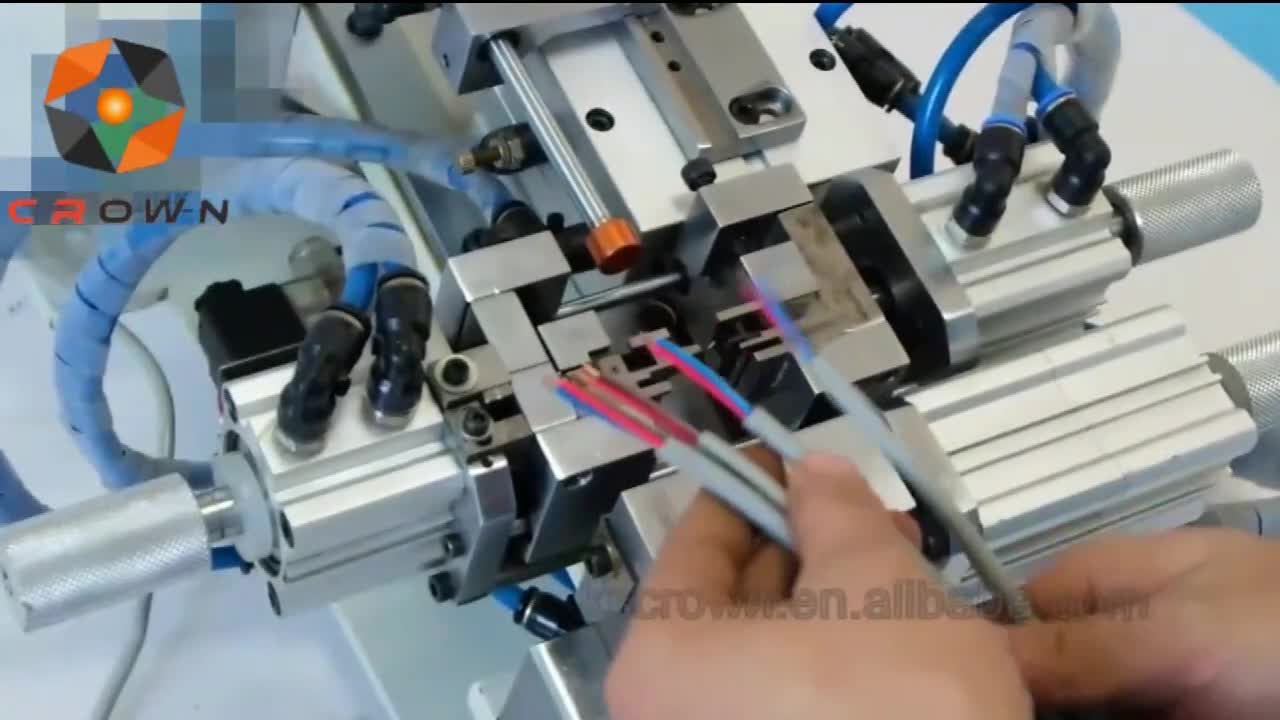 Pneumatic Thick And Thin Sheath Jacket Wire Cable Cutting Harness Sheathing Stripping Machine Wl 250h