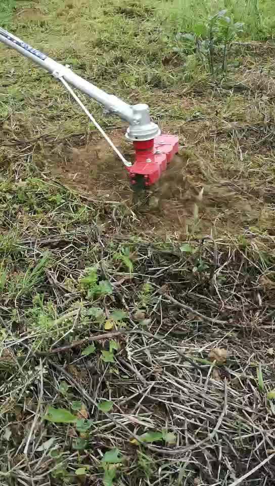 로터리 브러쉬 커터 CG40-FA 잔디 절단기 밀 절단기 인도