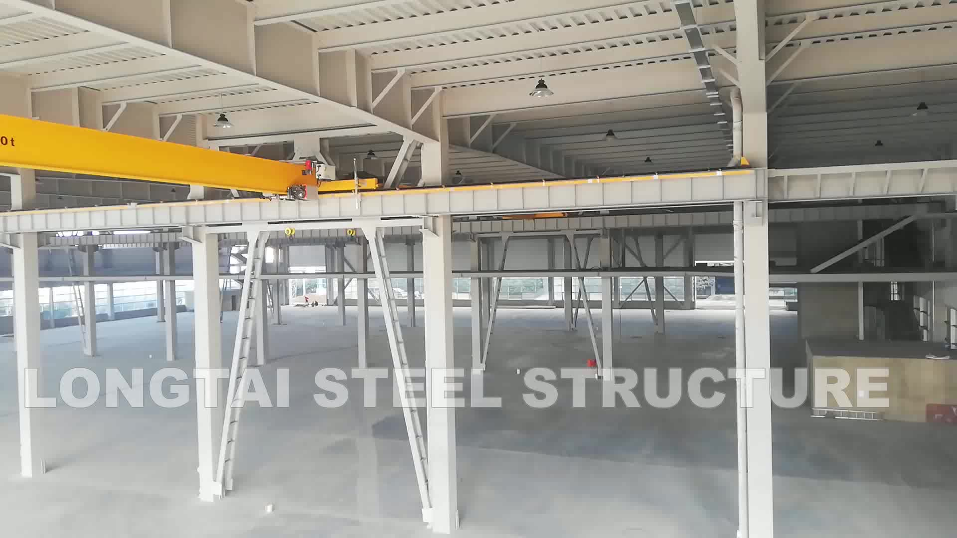 High quality and modern modular steel structure building